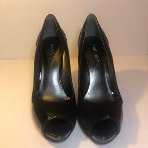 Nine West PYPORAVIDA Black heels Size 6 M